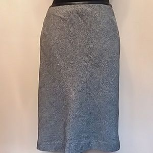 346 Brooks Brothers Stretch Herringbone Skirt